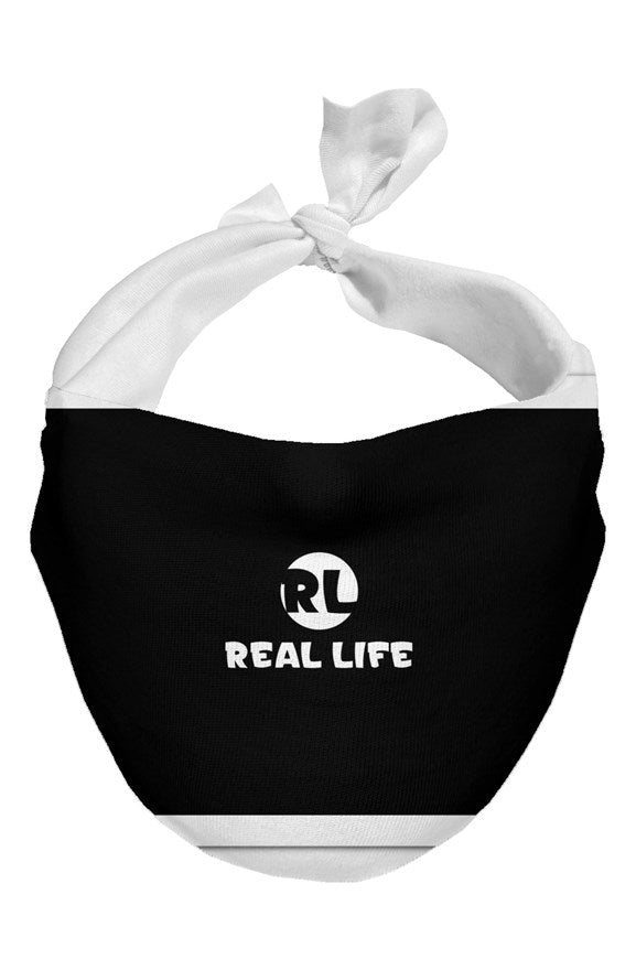 Real Life ( Face Mask IV ) - Dream Team Empire Clothing LLC