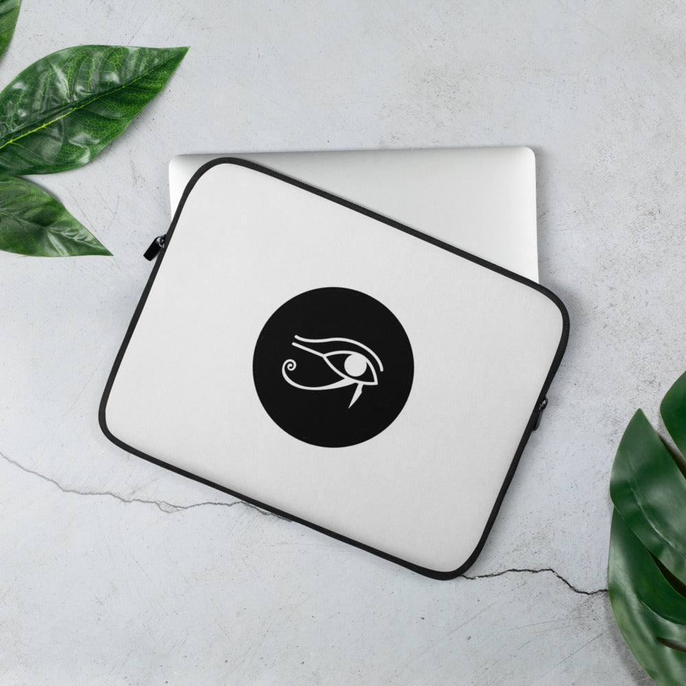 Real Life Eye of Horus ( Laptop Sleeve ) - Dream Team Empire Clothing LLC