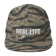 Load image into Gallery viewer, Real Life ( Five Panel Cap ) - Dream Team Empire Clothing LLC