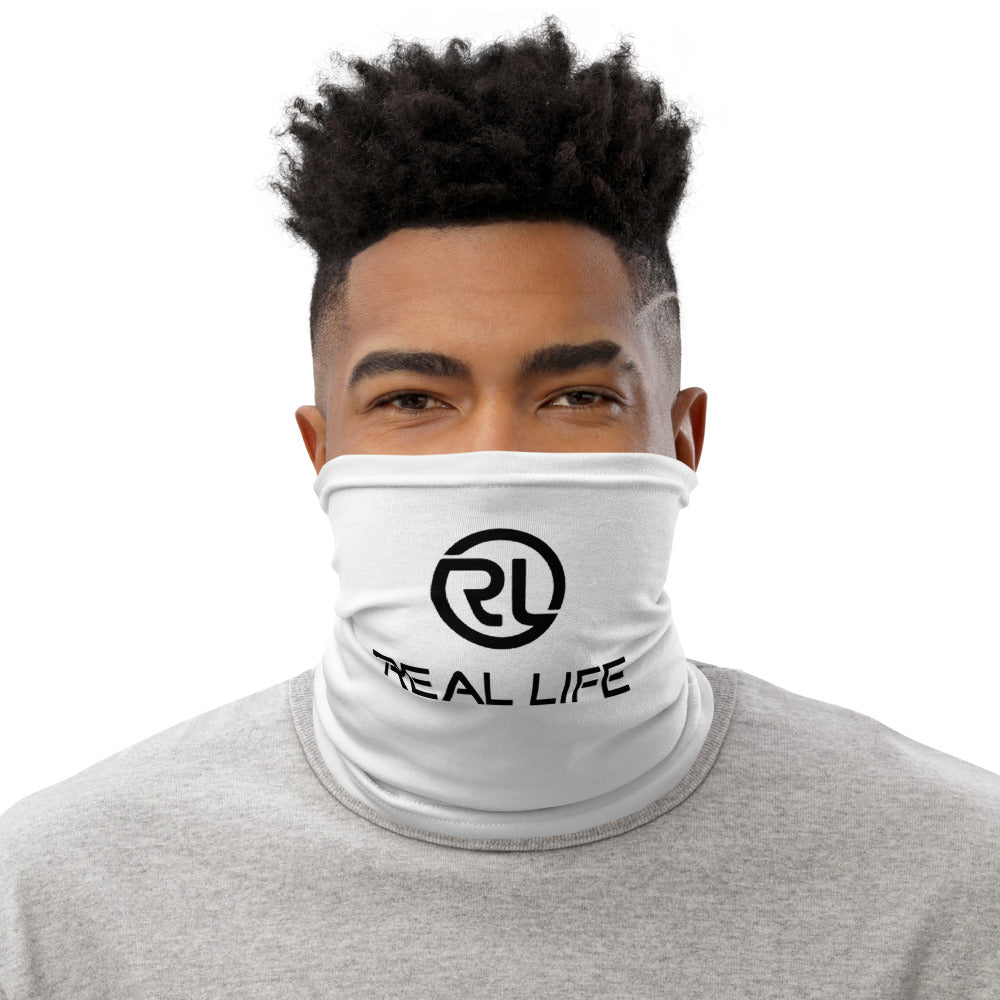 Real Life ( Neck Gaiter Face Mask ) - Dream Team Empire Clothing LLC