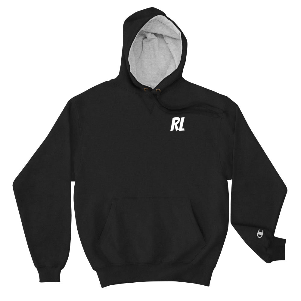 Real Life ( Champion Hoodie II ) - Dream Team Empire Clothing LLC