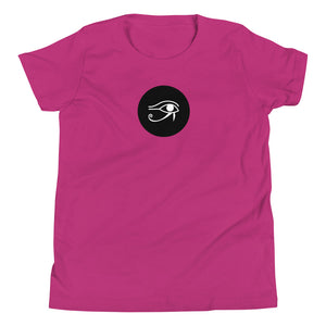 Real Life Eye of Horus ( Youth Short Sleeve T-Shirt ) - Dream Team Empire Clothing LLC