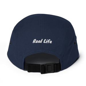 Real Life Eye of Horus ( Five Panel Cap ) - Dream Team Empire Clothing LLC