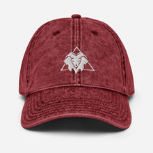 Load image into Gallery viewer, Goat Gang ( Vintage Cotton Twill Cap ) - Dream Team Empire Clothing LLC