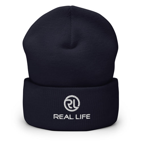 Real Life ( Cuffed Beanie III ) - Dream Team Empire Clothing LLC