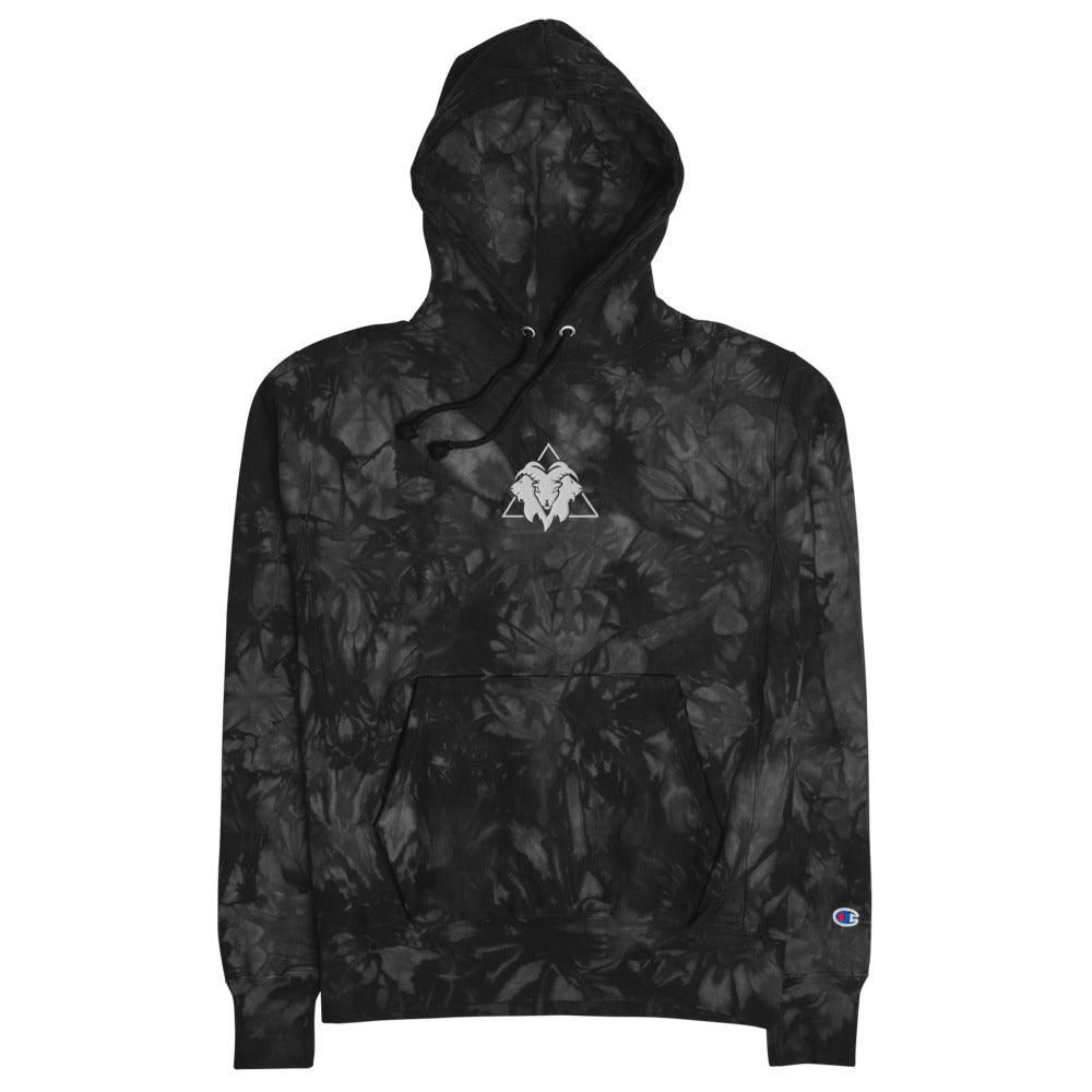 Goat Gang ( Champion tie-dye hoodie II ) - Dream Team Empire Clothing LLC