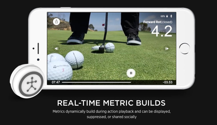 Blast Golf - Swing & Stroke Analyser