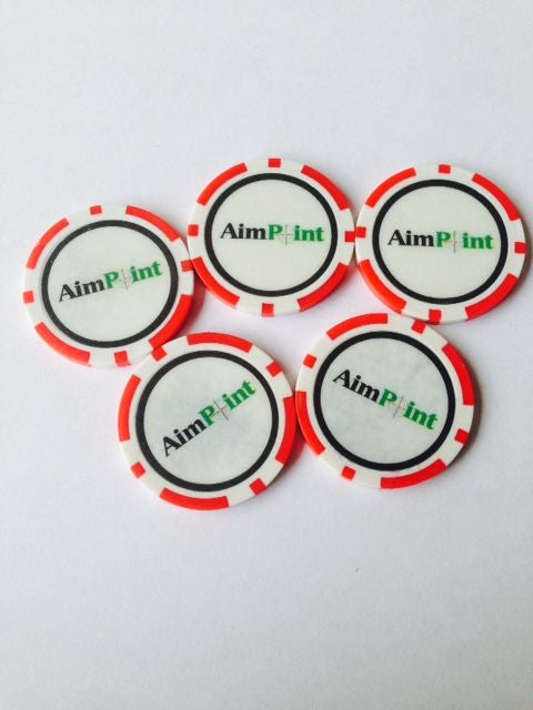 AimPoint Poker Chip Ball Markers
