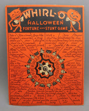 Load image into Gallery viewer, Vintage Beistle USA / Sandra Pearl Whirl-O Halloween Game