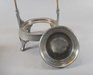 Antique Victorian Aesthetic Movement Pickle Castor - Silver Plate, by Middletown Plate Co