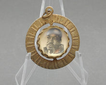 Load image into Gallery viewer, Vintage Martin Luther King Memorial Pendant - MLK Photograph, I Have a Dream
