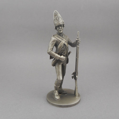 Lance Pewter Soldier Figurine - Revolutionary War - Haslet's Delaware Infantry Regiment - Lionel Forrest 1975