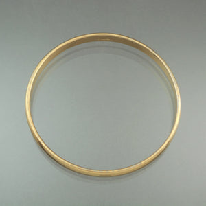 Vintage 1960s Monet Gold Tone Bangle Bracelet