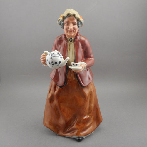 Vintage Royal Doulton Porcelain Figurine - Teatime - HN 2255 by Mary Nicoll
