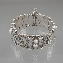 Load image into Gallery viewer, Vintage William Spratling Bracelet - 980 Sterling Silver, Signed with 1930s Mark - Taxco, Mexico - Vindobonensis Design