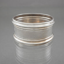Load image into Gallery viewer, Antique Art Deco Era Napkin Ring - Sterling* Silver - Inscribed Danie