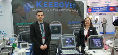 KeeboVet's affordable ultrasounds debut at Western Veterinary Conference WVC Las Vegas 2017! Did you see what we have to offer?
