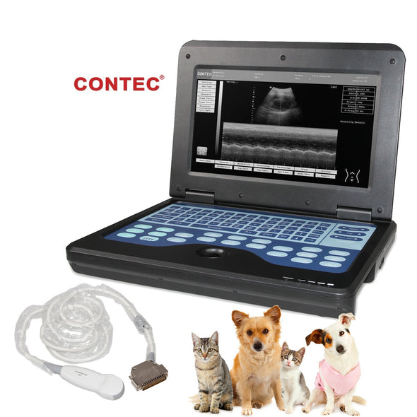 Portable Ultrasound Scanner Veterinary Pregnancy with 3.5 MHz Micro convex Probe for Cat/dog Small Animals
