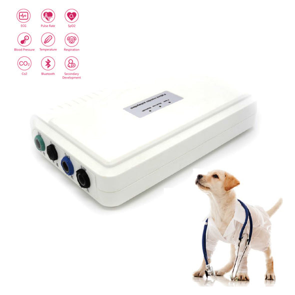 Handheld Veterinary Patient Monitor Sub-System, Connect Bluetooth or USB to Screen
