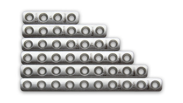 Keebomed Plates Orthopedic Bone Plate 2.0mm Premium Quality