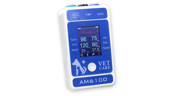 KM-31 ECG Vet Monitor 2.4 Inch Color TFT LCD Display Portable Bluetooth Veterinary Clinic Equipment