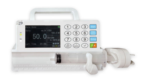 KM-SP800V Veterinary Syringe Pump with Drug Library