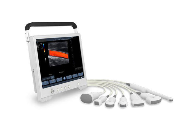 KeeboTouch 30V Touchscreen Ultrasound For Veterinary Probes