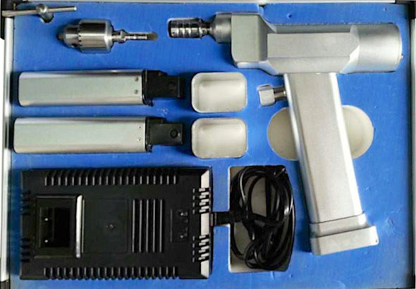 Quick Coupling Cannulated Electric Bone Drill 1200 RPM M-06 | KeeboVet