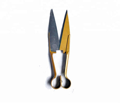 Yellow Stainless Steel Manual Sheep Wool Clipper Shears 265mm
