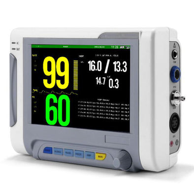 "7"" 5 Parameter Veterinary Monitor 