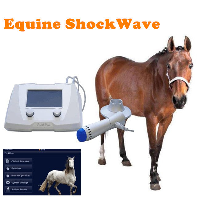 SmartWave Portable Equine Veterinary Shock Wave Therapy Unit