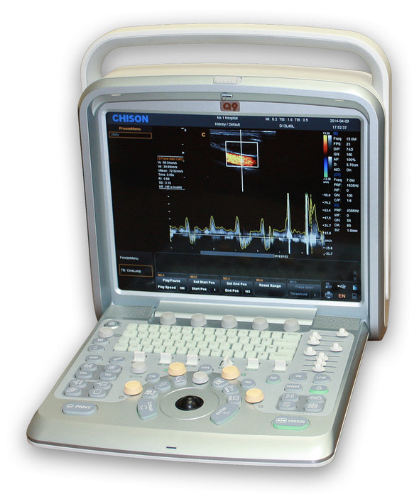 Chison Q9Vet Color Doppler Ultrasound | KeeboVet