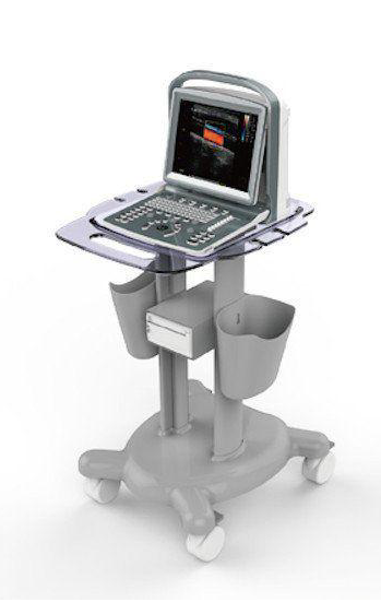 Chison ECO5Vet Animal Ultrasound Machine On Trolley Cart