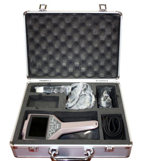 KeeboVet Veterinary Ultrasound Equipment OviSonoSui 30Vet Carrying Case Open