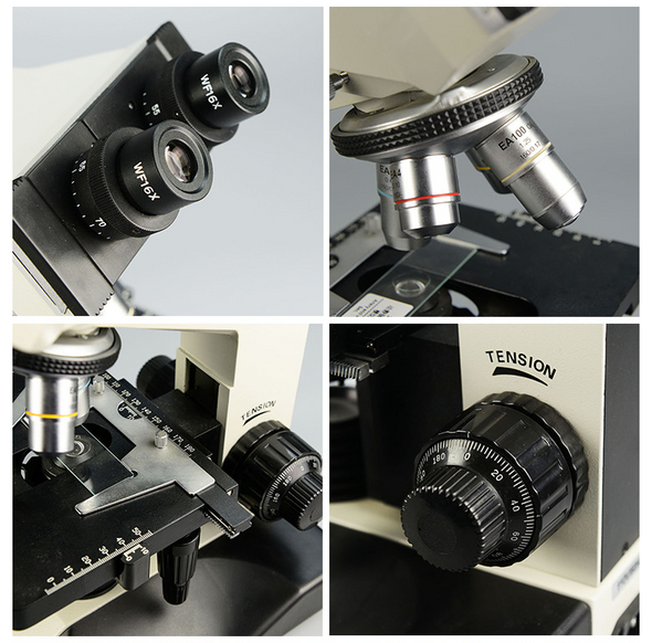 Wide Field Plan-Scope Eyepiece Microscope