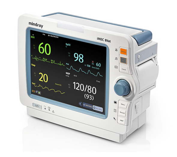 Mindray iMEC-8Vet Portable Veterinary Monitor