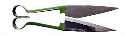 Wool Horsehair Rabbit Fur Sharp Scissor Sheep Shear, Green Handle, 315mm
