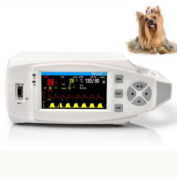 KeeboVet Pulse Rate Oximeter Vet Monitor with SpO2, ETCO2, NIBP