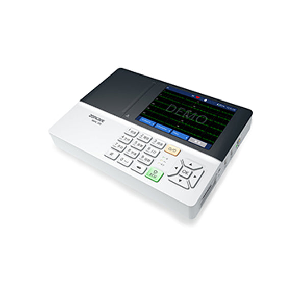 iKM300 5.6 inch LED Digital 3 Channel Veterinary Electrocardiograph ECG Machines