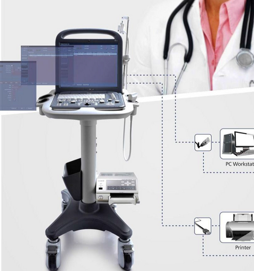 Keebomed Accessoroes for Ultrasounds Sonoscape S2 Trolley