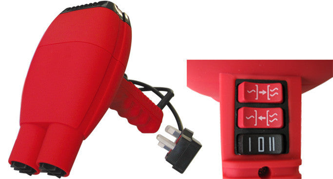 Keebomed pet dryer TD-904 Dual Nozzle Handheld Dryer