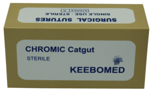 Chromic Catgut Sutures Keebomed, KeeboVet Veterinary Ultrasound Equipment