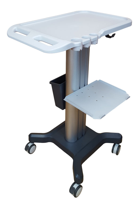 KeeboVet Veterinary Ultrasound Equipment Accessoroes for Ultrasounds Ultra DeLuxe Trolley KM-5 - 110cm High