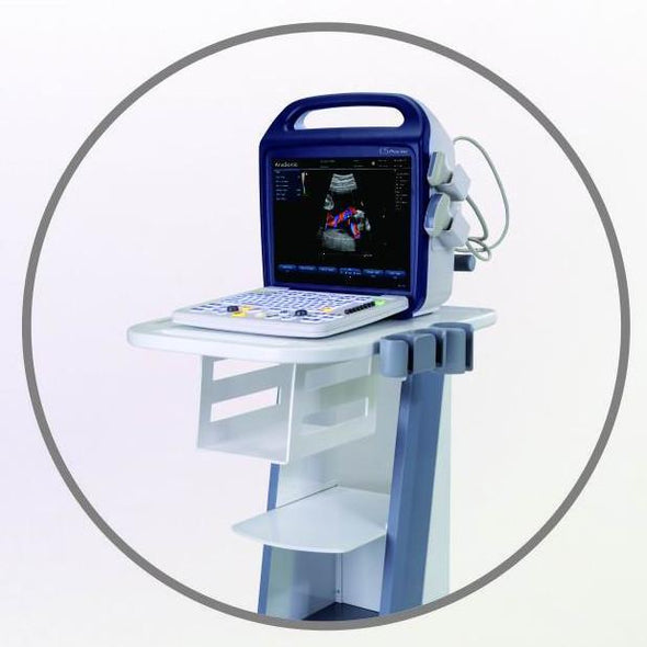 KeeboSono C5Plus Color Doppler Veterinary Ultrasound System | Trolley Cart