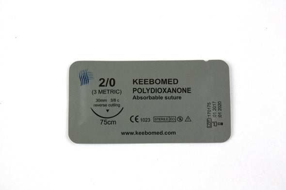 KeeboVet Veterinary Ultrasound Equipment Sutures LOTS OF 10 BOXES - SURGICAL SUTURES POLYDIOXANONE PDS PDO