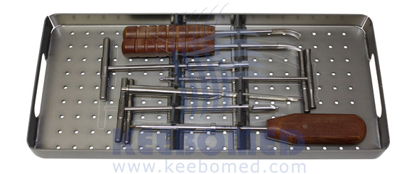 Keebomed Orthopedic Systems Medium Orthopedic System 2.7/3.5/4.0