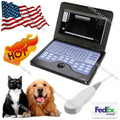 New CE Micro Convex Veterinary Laptop Ultrasound Scanner Machine To Dog/Cat/Pet 658126923446
