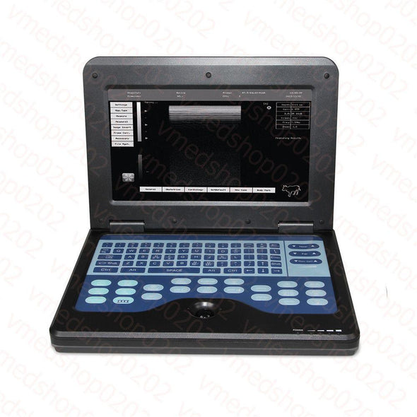 Veterinary Ultrasound Scanner Portable Laptop Machine with 7.5M Rectal Probe,USA 658126923446