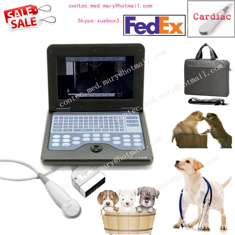 Veterinary Laptop Ultrasound Scanner Machine VET Micro Convex Probe US Seller 658126923446