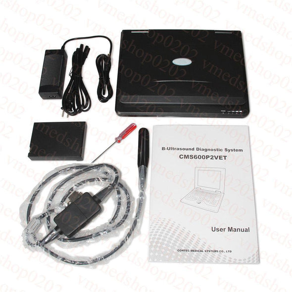 Portable Veterinary Laptop Ultrasound Scanner Machine 7.5M Rectal,Equine& Bovine 658126923446